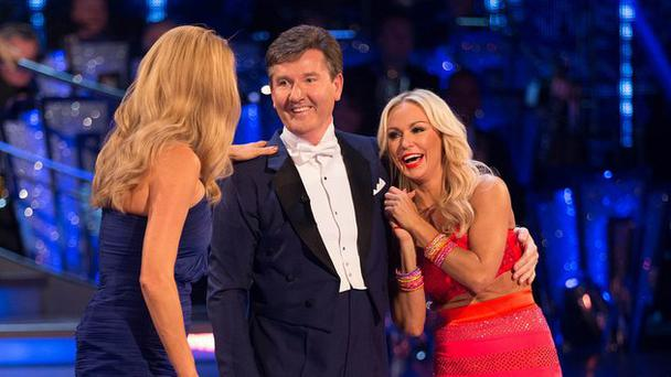 Daniel O'Donnell is was teamed up with Kristina Rihanoff