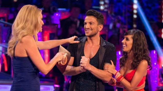 Peter Andre is competing in this year's Strictly Come Dancing