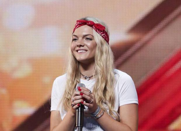 Louisa Johnson is a favourite to win this year's X Factor