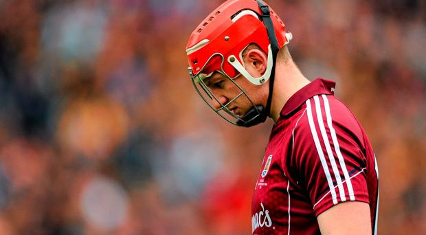 6 September 2015; Joe Canning, Galway. GAA Hurling All-Ireland Senior Championship Final, Kilkenny v Galway, Croke Park, Dublin. Picture credit: Seb Daly / SPORTSFILE