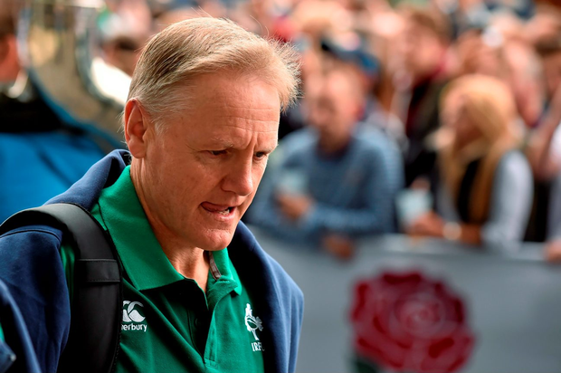 Joe Schmidt has defended his team's first-half performance