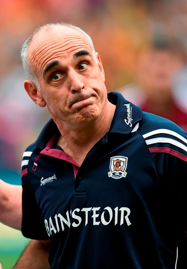 Anthony Cunningham is no longer the Galway manager