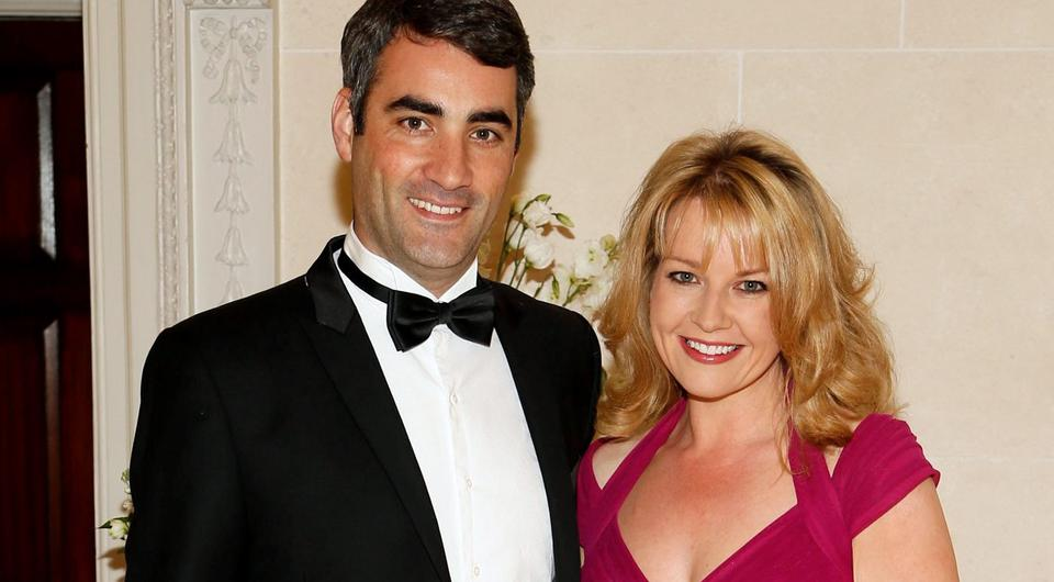 Claire Byrne and partner Gerry Scollan