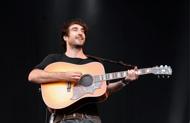 Danny O'Reilly from The Coronas during their performance at Electric Picnic in 2015. Picture: Caroline Quinn