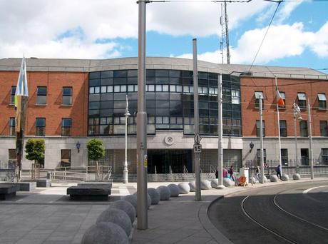 Gardaí confirmed that nobody was injured in the incident, but said the driver was conveyed to Store Street Garda Station