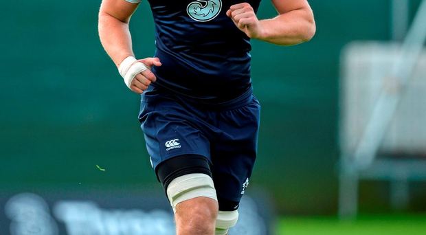 Iain Henderson (pictured) and Dave Kearney are the two banging down the proverbial door to demand attention, with Devin Toner and Tommy Bowe in danger of missing out