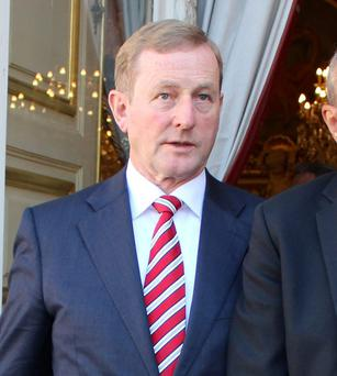Taoiseach Enda Kenny has shown solidarity regarding the international refugee crisis