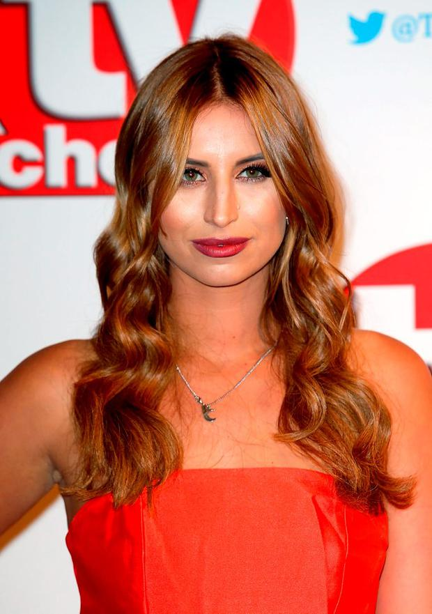 Ferne McCann attends the TV Choice Awards 2015 at Hilton Park Lane on September 7, 2015 in London, England. (Photo by Chris Jackson/Getty Images)