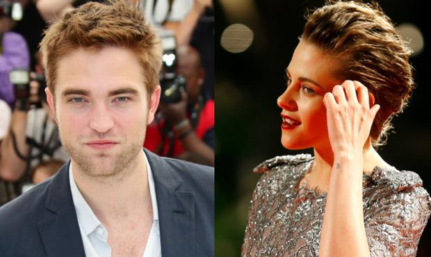 Robert Pattinson (left) and ex-girlfriend Kristen Stewart