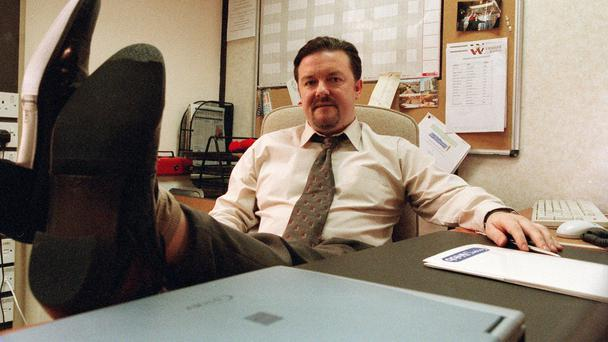 David Brent in The Office.