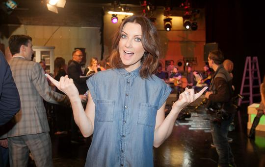 Jennifer Maguire during an announcement of a new season of programmes on RTE 2 at RTE studios Donnybrook, Dublin. Photo: Gareth Chaney/Collins
