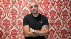 Baz Ashmawy during an announcement of a new season of programmes on RTE 2 at RTE studios Donnybrook, Dublin. Photo: Gareth Chaney Collins