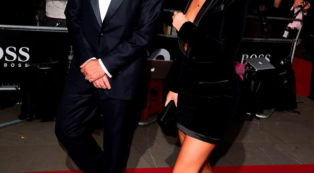 Jose Mourinho and Matilde Mourinho Jnr attending the 2015 GQ Men of the Year Awards at the Royal Opera House, London.
