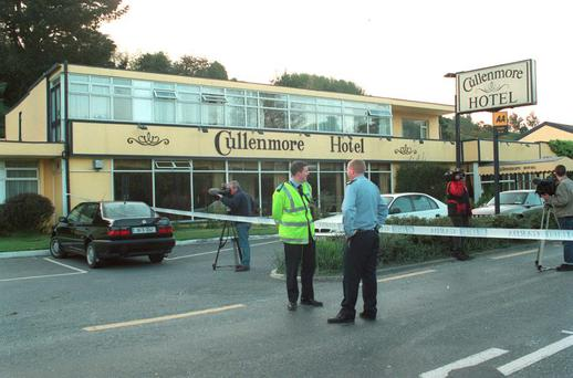 The scene of the 1998 security van raid in Co Wicklow