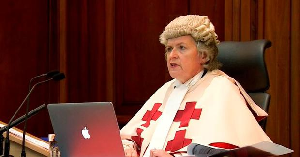 Justice Lady Rae said Alexander Pacteau had shown little remorse for the brutal murder of Karen