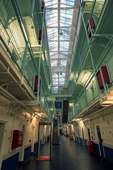A general view of HMP Barlinnie where Alexander Pacteau will spend most of the next 23 years