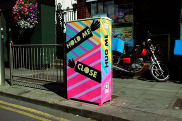 Dublin traffic box by artist Anna Doran