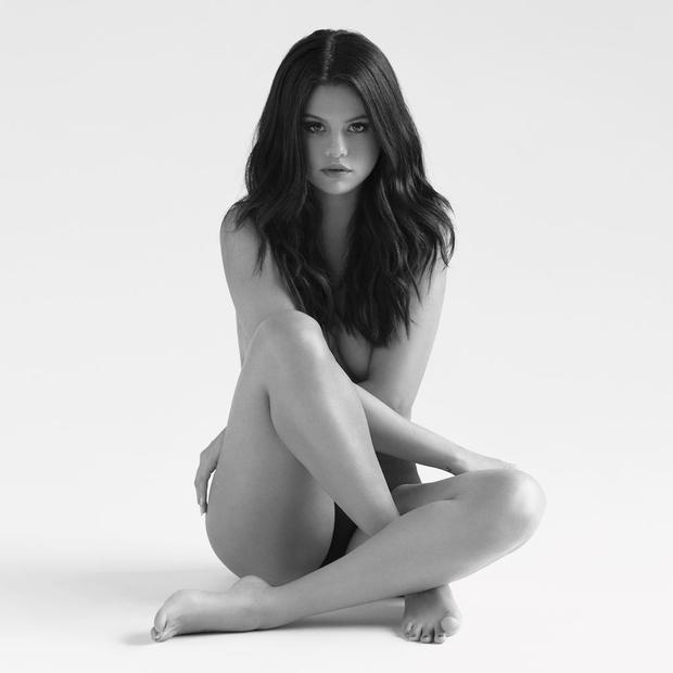 Selena Gomez posed nude on her Revival album cover