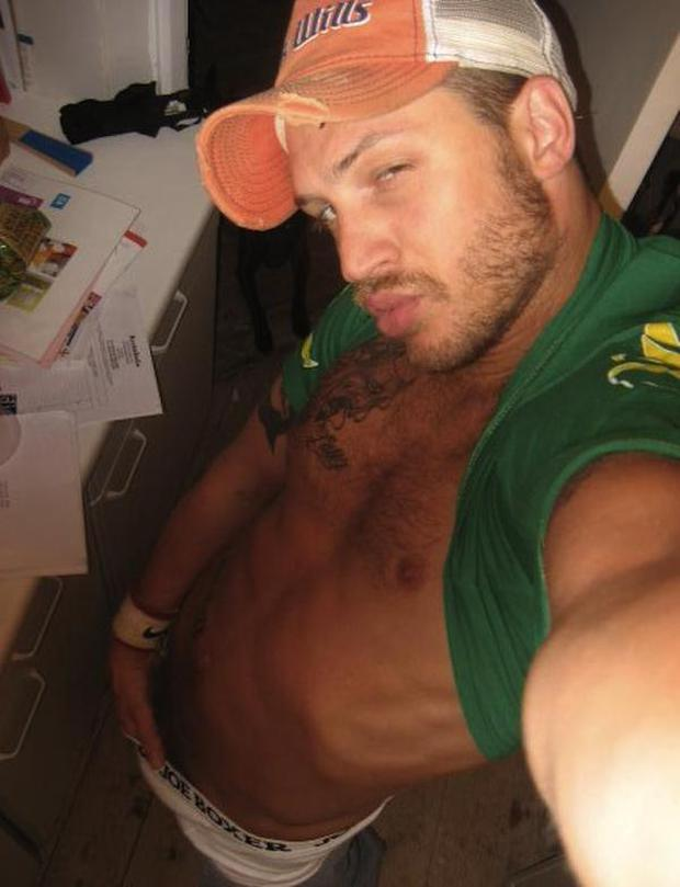 Tom Hardy's unearthed MySpace pictures from 2008