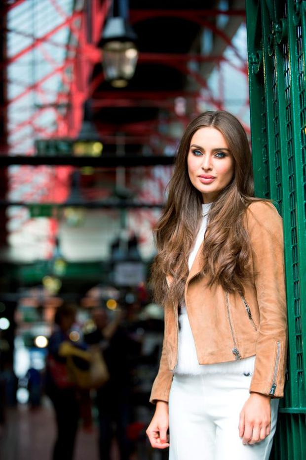 Roz Purcell launches the Naked Coconut Water Fashion Picnic as part of Dublin Fashion Festival 2015. Picture: Naoise Culhane