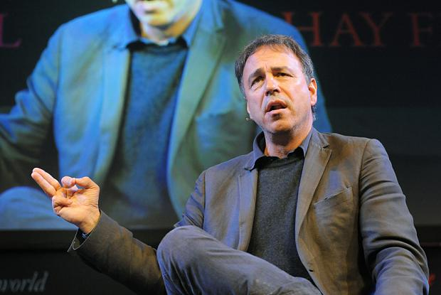 Anthony Horowitz at the Hay Festival last year