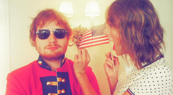 Best friends Taylor and Ed Sheeran