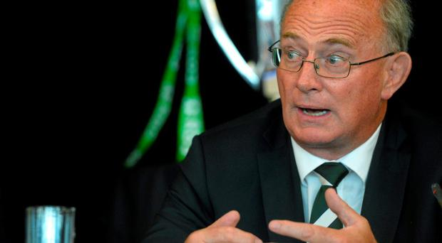 IRFU President Martin O'Sullivan saud he was pleased to see the Your Club Your Country grand draw assisting clubs in their fundraising initiatives