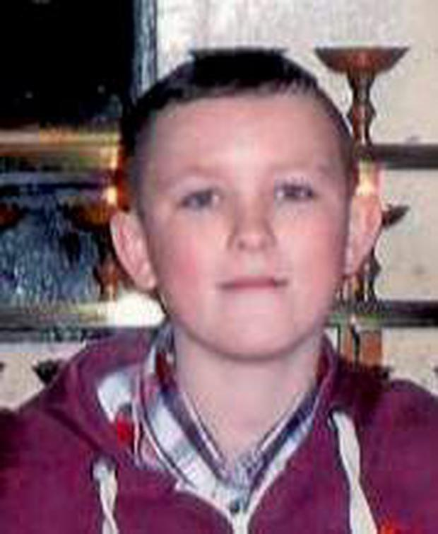 Missing boy Dillon O'Neill Pic: Garda Press Office