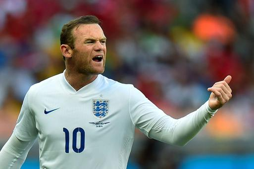 England forward Wayne Rooney