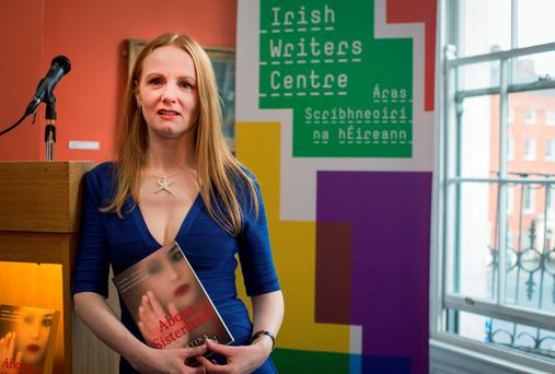 Martina Devlin at the launch of her new book 'About Sisterland', at the Irish Writers Centre, Parnell Square, Dublin. 9/9/2015 Picture by Fergal Phillips