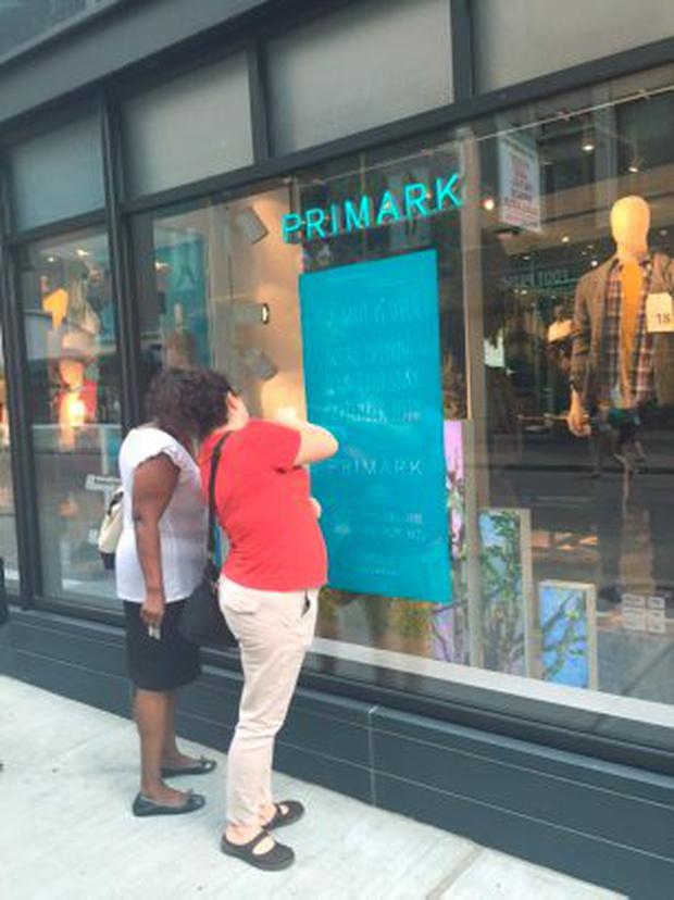 Primark (Penneys) in Boston. The retailer opens its first story in the USA in Boston for the first time on Thursday. Pic: Bairbre Power