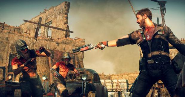 Mad Max - Probably wise not to get up to mischief with a shotgun point at you