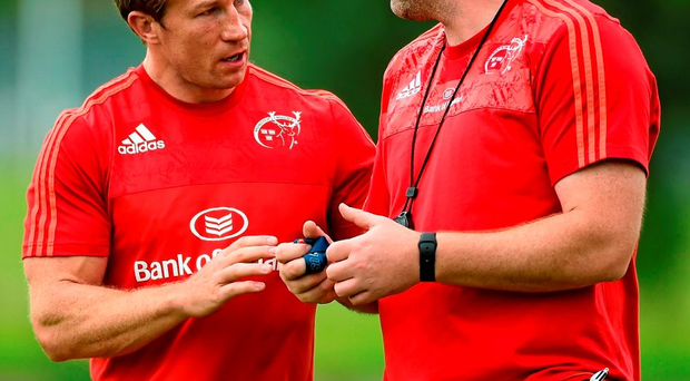 Anthony Foley and Jerry Flannery talk tactics ahead of Sunday's game