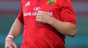 John Ryan knows he's facing a battle for game-time in the Munster front row SPORTSFILE