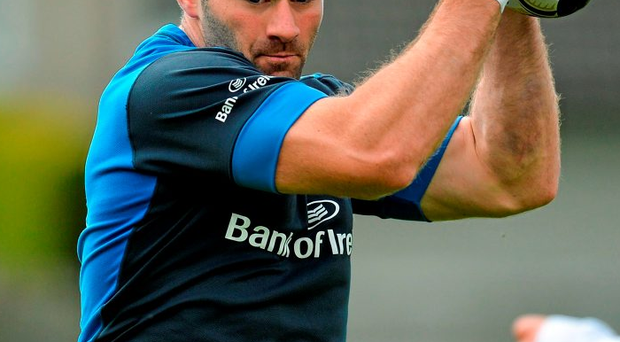 Fergus McFadden says he can't wait to run out in front of the Leinster fans at the RDS