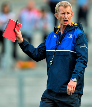 Leo Cullen will demand a lot of his Leinster players