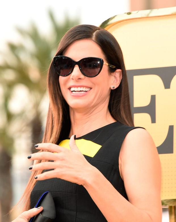 Actress Sandra Bullock arrives at the Los Angeles premiere of