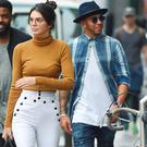 Kendall Jenner and Lewis Hamilton shopping in New York City
