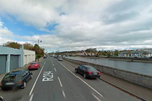 The woman was killed on Emmet Street in Ballina Credit: Google Street View