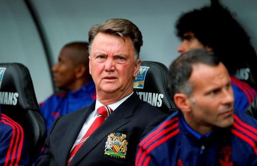 Manchester United manager Louis van Gaal Action Images via Reuters / John Sibley