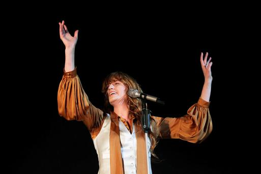 Florence and the Machine, who went down a bomb at the Electric Picnic last weekend
