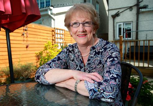 Cancer survivor, Rita Fahy pictured at her home in Kilnamanagh Co Dublin