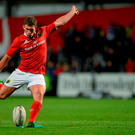 Ireland out-half Ian Keatley is among those demoted to the bench