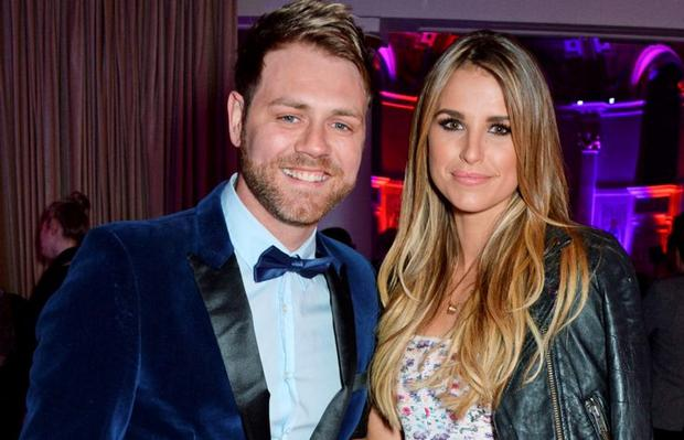 Brian McFadden and ex-wife Vogue Williams