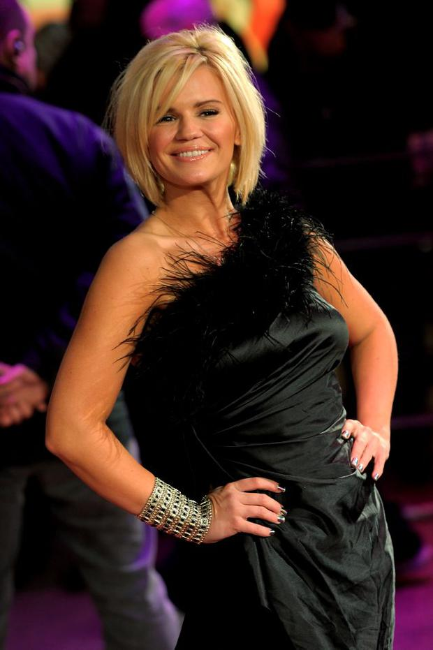 Kerry Katona attends the 'Morning Glory' UK premiere at the Empire Leicester Square on January 11, 2011 in London, England. (Photo by Ian Gavan/Getty Images)