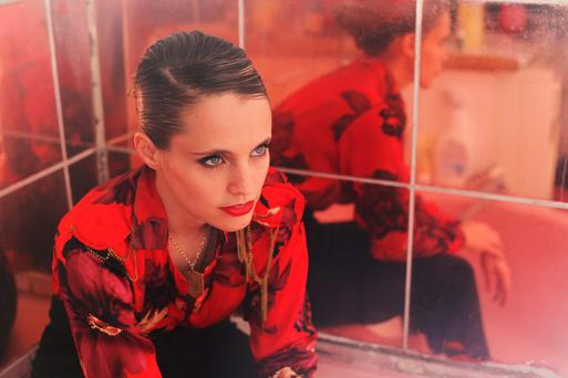 Fresh twist: Mercury prize winner Anna Calvi stars in Blood and Moon at the NCH. Photo: Maisie Cousins