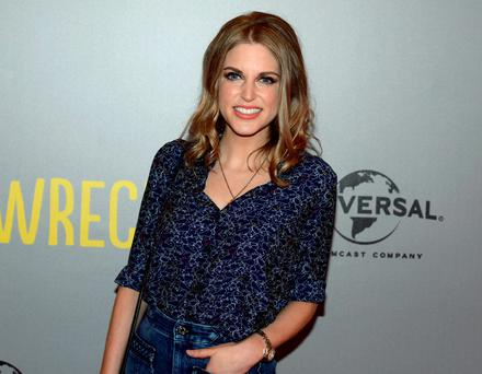 Amy Huberman at the Trainwreck Irish premiere