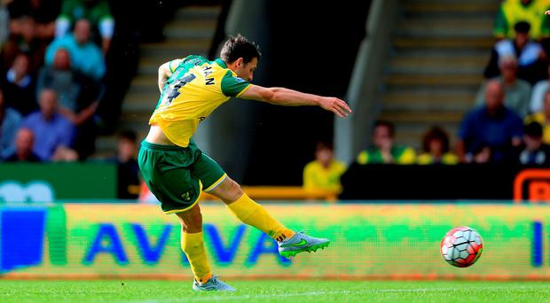 Wes Hoolahan was in fine form for Norwich