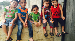 These children live in collective accommodation just outside Halba in northern Lebanon. Their parents face eviction because the UNHCR can no longer afford to subsidise their $80 per month rent