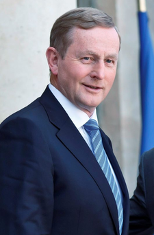 Enda Kenny said that Fine Gael would not commit, in its election manifesto, to abolish the Eighth Amendment